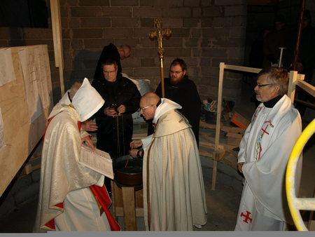 Улф Екман тайна служба с католици